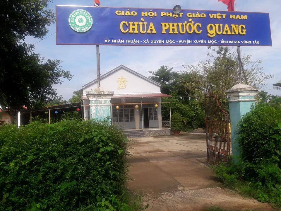 Sắp tới chùa Phước Quang tổ chức buffet chay