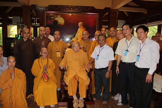 Phật giáo tỉnh Đồng Nai chào mừng 35 năm thành lập GHPGVN