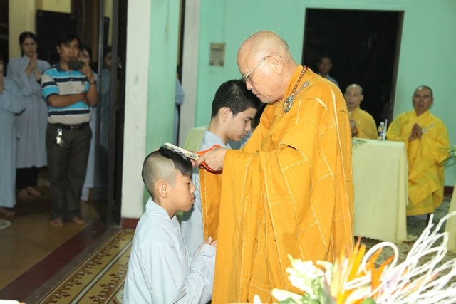 Lễ Húy nhật lần thứ 38 cố HT Thích Thiện Minh tại chùa Phước Viên