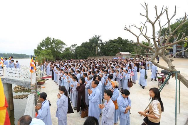 Lễ an vị tôn tượng Bồ-tát Quán Thế Âm chùa Hòa Phúc