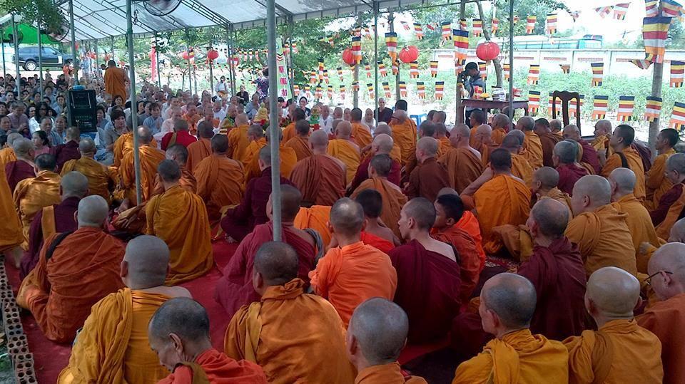 Sắp tới chùa Phước Lâm - Đồng Nai có Đại lễ dâng y Kathina