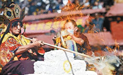 Lễ hỏa tịnh trong Phật giáo Tây Tạng