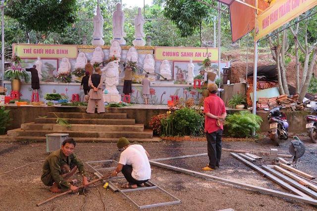 Đăk Nông: Công tác chuẩn bị bổ nhiệm trụ trì Chùa Phước Hoa
