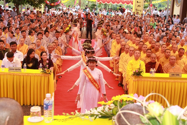 Đăk Nông: Bổ nhiệm trụ trì chùa Phước Hoa