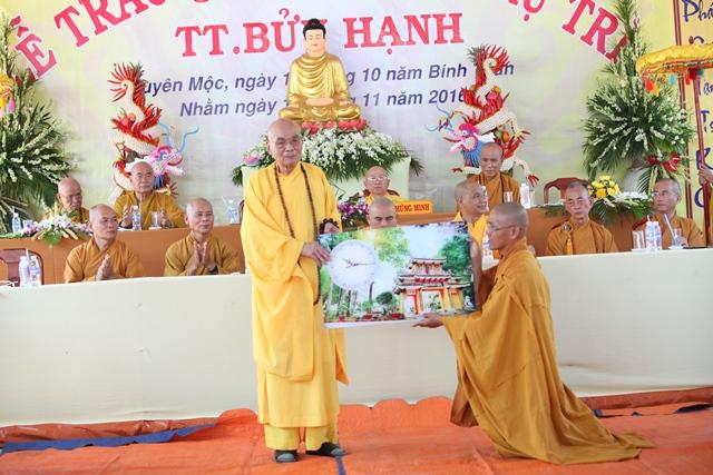 Lễ Bổ nhiệm trụ trì chùa Cây Đa
