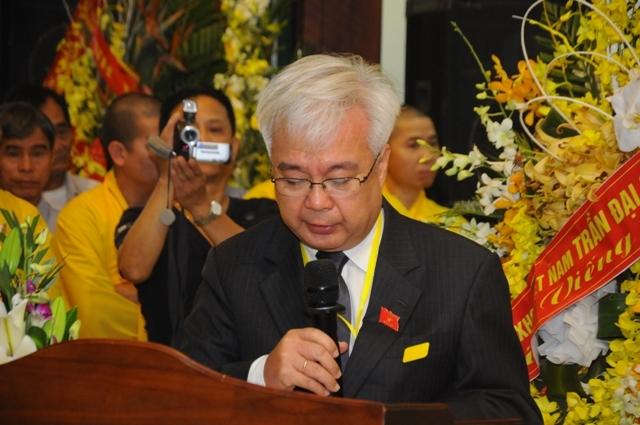 Ông Phan Thanh Bình đọc lời truy niệm của Quốc hội