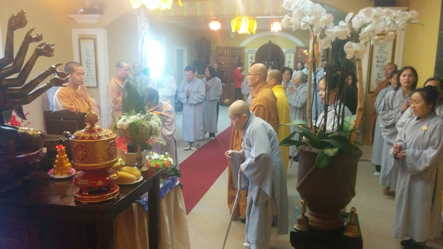 Hoa Kỳ: Trung tâm Văn Hóa Phật Giáo Liễu Quán tưởng niệm HT Thích Thiện Bình