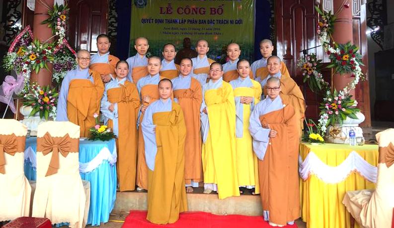 Danh sách 11 vị Ni trong ban Đặc trách ni giới tỉnh Đăk Nông