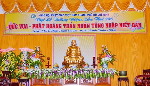 TP.HCM: Bế mạc khóa trụ trì, tưởng niệm Đức Phật hoàng