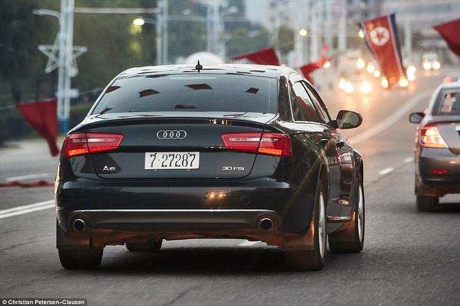 chiếc xe Audi A6 của người dân Triều Tiên.