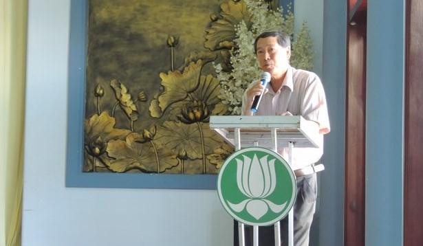Ông Nguyễn Quốc Hùng đại diện Chính quyền Thành phố phát biểu