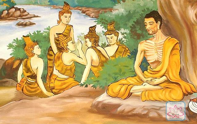Đức Phật và năm anh em Kiều Trần Như