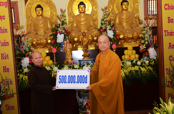 Trường Trung cấp Phật học Hà Nội kỷ niệm 25 năm thành lập