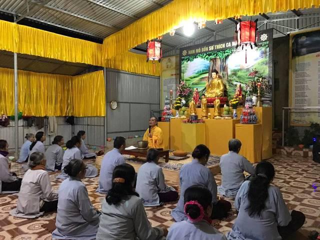 Nghệ An: Chùa Đồng Tương ấm áp mừng lễ vía Phật Thích Ca thành đạo