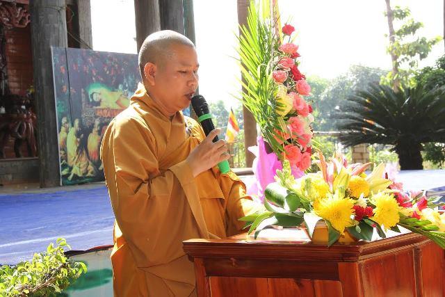 BTS Phật giáo huyện Bù Gia Mập tổng kết công tác Phật sự năm 2016