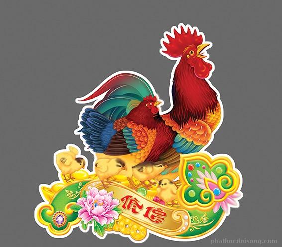 Xuân con gà