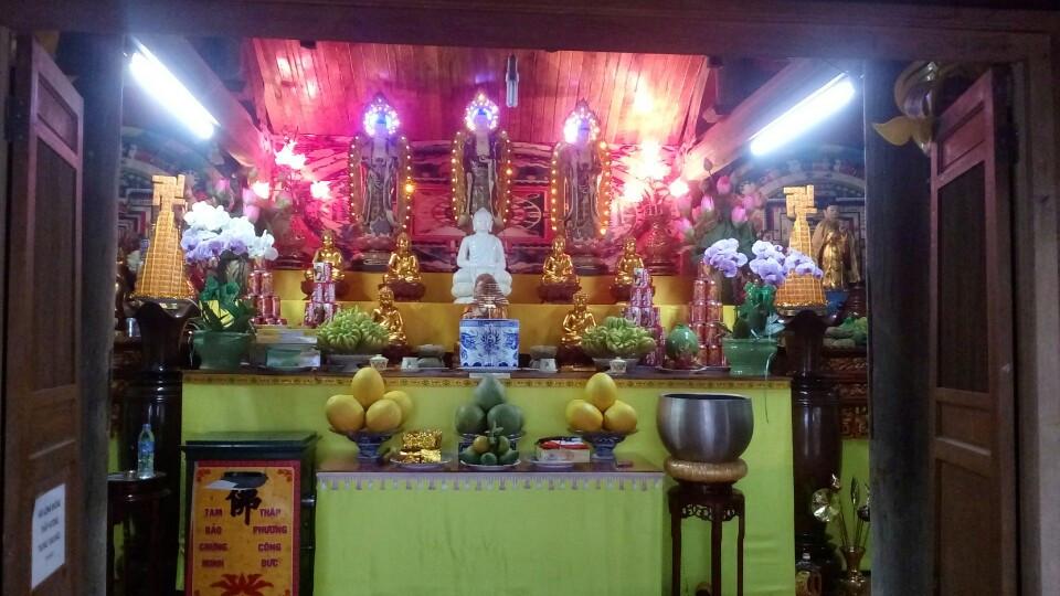 Nghệ An: Không khí đón xuân tại chùa Long Hoa