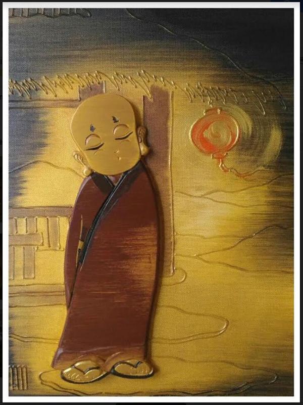 Trước giao thừa hòa mình trong triển lãm văn hóa nghệ thuật Phật giáo và Dân tộc