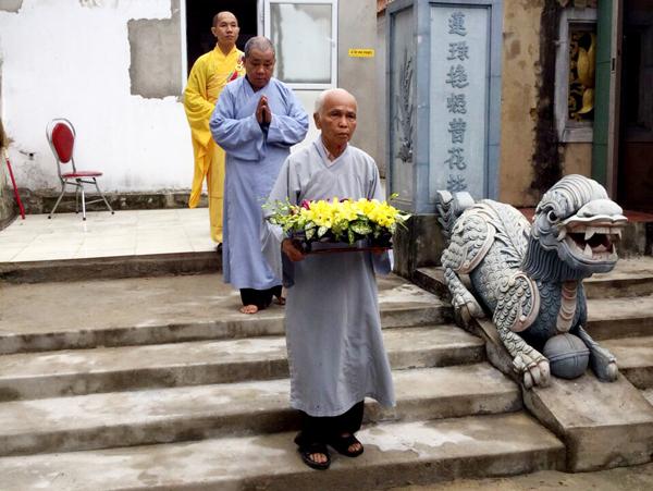 Quảng Bình: Đại Đức Thích Nguyên Viên giảng tại Quan Âm Cổ Tự