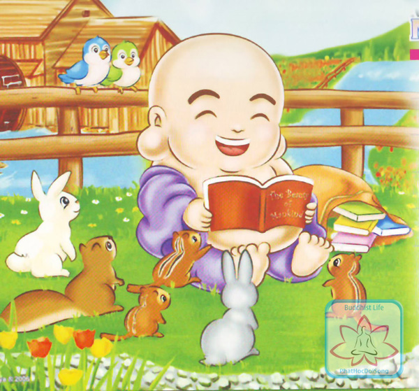 Bộ tranh Phật Di Lặc bằng hoạt hình