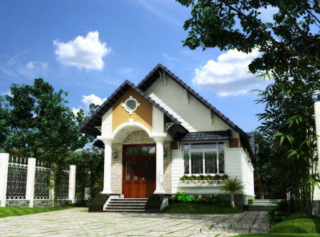 17 mẫu nhà mái Thái thiết kế đẹp ở nông thôn