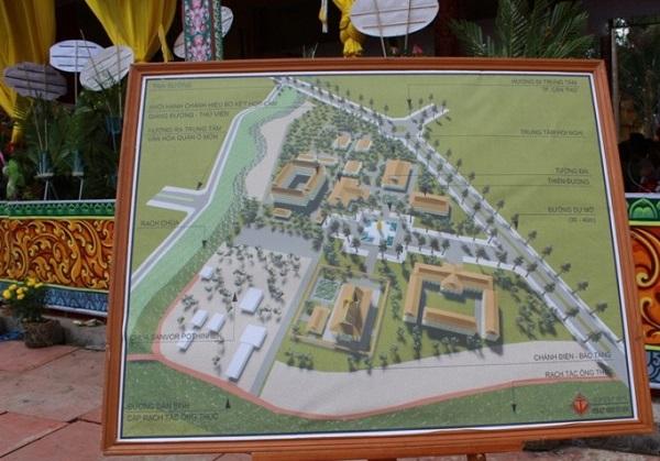 Cần Thơ: Đặt đá xây dựng Học viện Phật giáo Nam tông Khmer