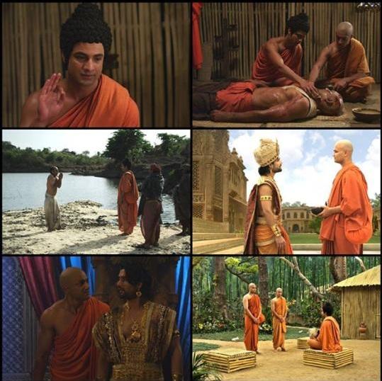 Diễn viên Mayank Arora trong vai A Nan phim Đức Phật