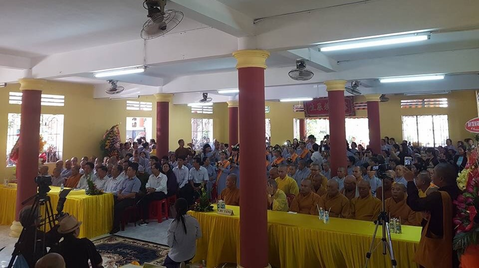 BRVT: Bổ nhiệm trụ trì chùa Từ Nhãn làng Vạn Hạnh