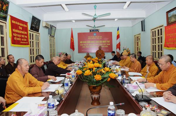 Hà Nội: Hội nghị sinh hoạt Giáo hội của Ban Thường trực HĐTS