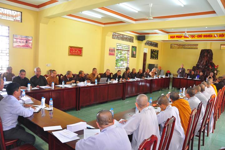 Phật giáo Long An họp triển khai công tác tổ chức Đại lễ Phật Đản PL 2561, Đại hội Đại biểu Phật giáo nhiệm kỳ IX