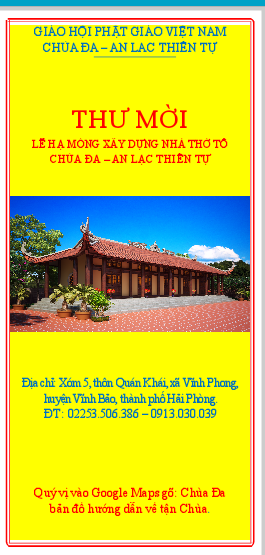 Hải Phòng: Sắp tới chùa Đa - An Lạc Thiền Tự tổ chức lễ đặt đá xây dựng nhà Tổ