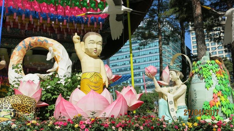 Rực rỡ lồng đèn Phật đản tại Hàn Quốc