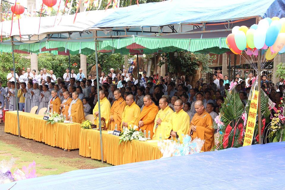 Trọng thể Đại Lễ Phật đản Phật giáo huyện Bù Gia Mập tại chùa Đức Hạnh