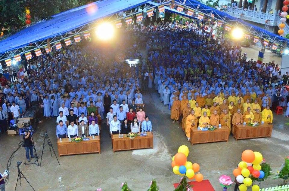 Đăk Nông: Đại lễ Phật đản lần thứ 2641 chính thức tại chùa Pháp Hoa