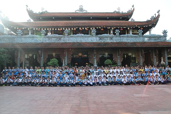 Hà Nội: Lễ cầu nguyện và tư vấn mùa thi năm 2017 tại Chùa Tăng Phúc