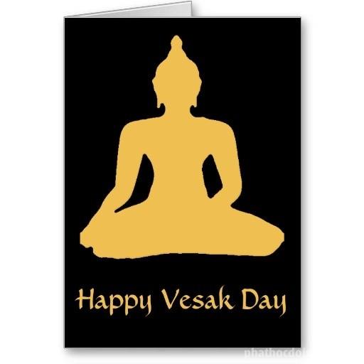 Những mẫu thiệp Phật đản Vesak 2017