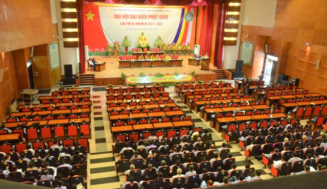 Quang cảnh Phiên trù bị Đại hội Phật giáo tỉnh Đắk Nông lần thứ III