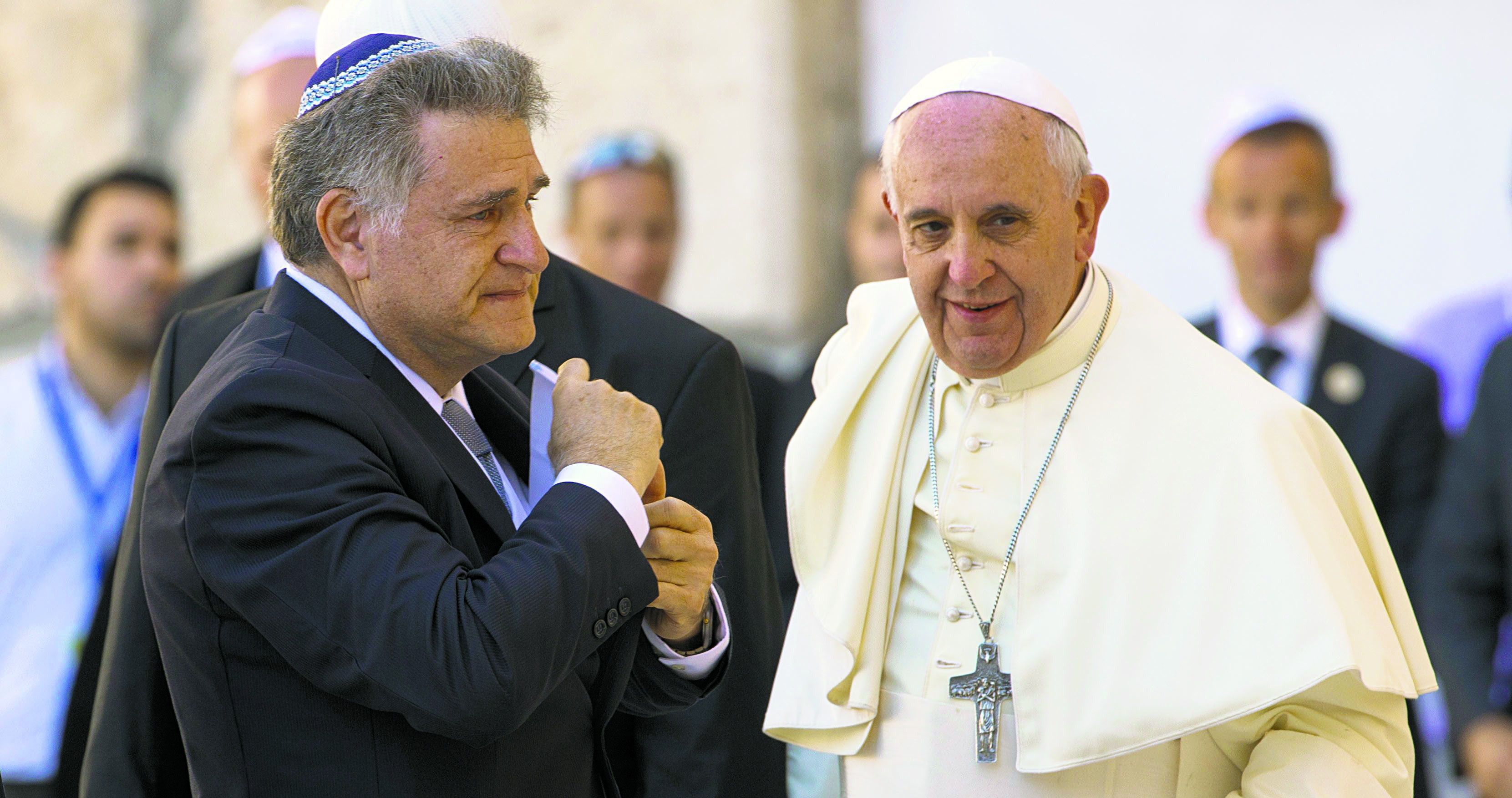 Pope Frabcis and Rabbi Abraham Skorka
