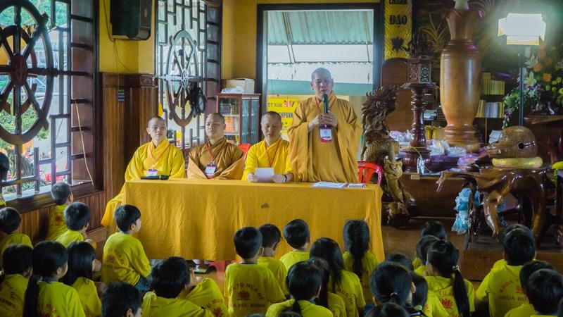 Bù Gia Mập: Chùa Đức Hạnh bế mạc khóa tu mùa hè 2017